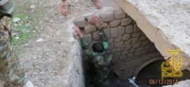 کشف تونل زیر زمینی داعش در سامراء + تصویر