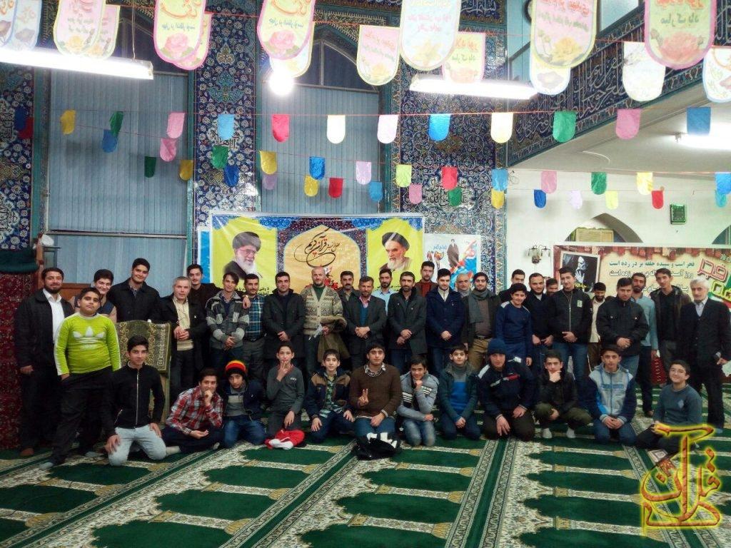 شبی با قرآن شهرستان رودسر